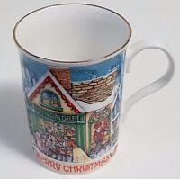 James Sadler Victorian Toy Store Christmas Coffee Mug Bone China Cup 1999