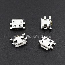 10pcs Micro USB 5pin B type Female Connector For Mobile Phone USB Connectors
