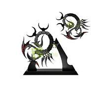 "10"" Fantasy Demon Scorpion Design Knife Sword Dagger w/stand Home Deco Brand New"