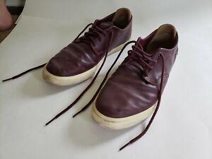 Lacoste Men's Espere 117 1 Sneaker, Burgundy/Off White, Size 10 US