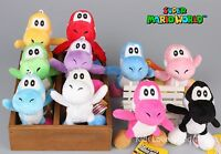 "10 Pcs New Super Mario Bros. YOSHI Plush Doll Soft Toy Keychain 4.5"" Pendant NEW"