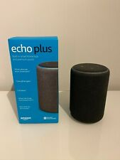 Amazon Echo Plus 2nd Generation Speaker - Charcoal Fabric