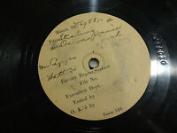 ONIVA DANCE ORCH Stealing RARE TEST PRESS 2/16/1922 HOT JAZZ 78 rpm Listen MP3