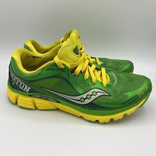 RARE SAUCONY BOSTON MARATHON WOMEN'S SZ 8.5 Running Shoes KINVARA 5 Shamrocks