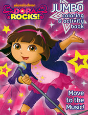 Dora Coloring Book RARE