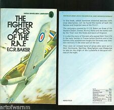 FIGHTER ACES OF THE R.A.F. - E C R Baker    UK SB VG