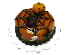 Halloween Cake Spiderweb Dollhouse Miniatures Food Deco Holiday Season 14