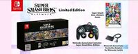 Super Smash Bros. Ultimate Limited Edition -  Nintendo Switch Game - In Hand