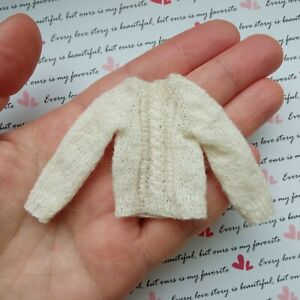 Knitted Sweater for Heidi Ott Doll / Palitoy Pippa Doll 12th scale