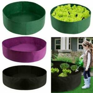 Fabric Raised Garden Bed Vegetable Flower Planter Grow Bag Pot Grow Bed Pouch