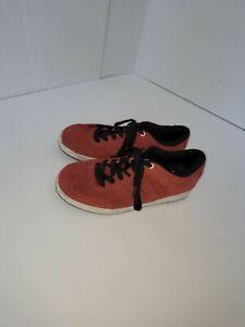Lotek red BMX shoes size 10.5 us