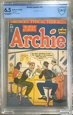 Archie Comics #22 (1946) CBCS 6.5 -- Al Fagaly black eye cover; like CGC