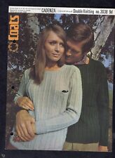 c1960s Knitting Pattern: Coats 3038: His & Her Sweater