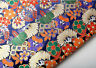 BY 1/2 YARD KIMONO SILK DAMASK JACQUARD BROCADE FABRIC : JAPANESE RETRO ELEMENTS