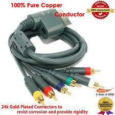 Xbox 360 Component HDTV Video and RCA Stereo AV Cable