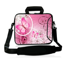 """Pink Laptop Sleeve Case Shoulder Bag For 15.6"""" HP ASUS 15.5"""" Sony Vaio E Series"""