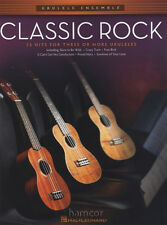 Classic Rock Ukulele Ensemble Music Book