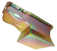 SB Ford 289 302 Zinc Plated Front Sump 7 Quart Oil Pan With HV Oil Pick-Up