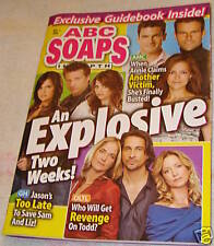 ABC Soaps In Depth  Dec 2008 Steve Burton Kelly Monaco