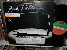 Mink DeVille - Where Angels Fear to Tread Prono LP w/ Timing strip