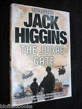 JACK HIGGINS: The Judas Gate - 2010 - 1st/First HB Afghan War/Sean Dillon Novel