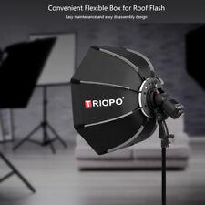 TRIOPO 55cm Octagon Umbrella Softbox for Speedlight Photography  Studio