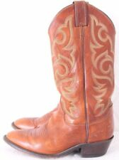 Justin Boots 2705 Sunset Renegade Med Round Toe Cowhide Cowboy Boot Men's US 7D