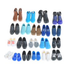 5pairs Fashion Handmade High quality Shoes For Barbie Boy Friend Ken*Doll Gift