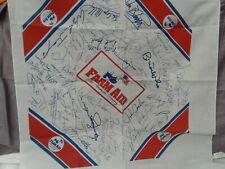 Vintage 1985 Farm Aid bandana pristine printed autographs original performers