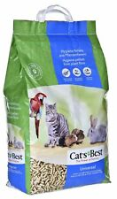 20 LITRES CATS BEST Universal Litter Cat's Pellets for Cats Rabbits Hamsters