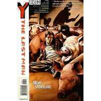 Y: The Last Man #6 in Near Mint minus condition. DC comics [*hn]