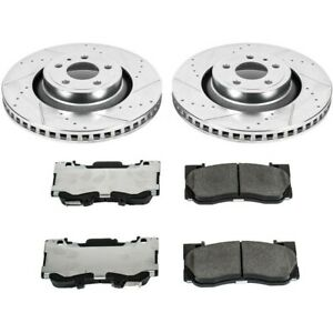 K6806-26 Powerstop New 2-Wheel Set Front for Ford Mustang 2015-2019