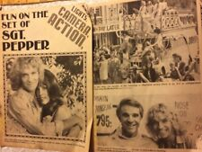 The Bee Gees, Sergeant Pepper, Two Page Vintage Clipping