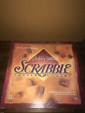 Deluxe Edition Scrabble With Turnable Boars. 100% Pieces No Missing Letters.