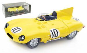 Spark S4388 Jaguar D Type #10 3rd Le Mans 1955 - Claes/Swaters 1/43 Scale