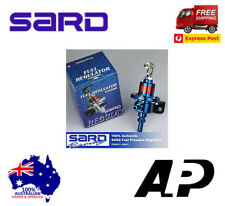 SARD RACING FUEL PRESSURE REGULATOR BLUE 100% AUTHENTIC