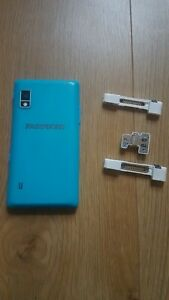 Fairphone 2 & top and camera modules - for parts or fixing. working but glitchy!
