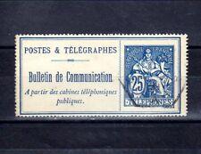 FRANCE Téléphone n° 24 oblitéré
