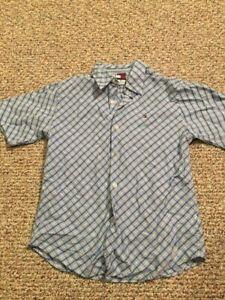 Boys Tommy Hilfiger Shirt short Sleeve - Size Medium