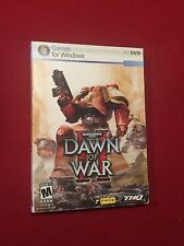 Warhammer 40000 Dawn of War II PC Video Computer Game Rated M 2009