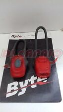 Set Coppia Luci silicone Led Bici Bicicletta MTB BYTE by ATALA FR67C col. Rosso