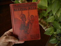 Vintage 1936 Healthy Life Series Keeping Well Health School Book Great pictures!