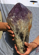 7860g 17.29lb NATURAL RARE Dream AMETHYST CRYSTAL Specimen stone