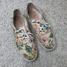 Keds x Rifle Paper Co Jardin de Paris Champion Floral Lace Up Sneaker Size 8 US