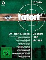 TATORT KLASSIKER - 80ER KOMPLETTBOX (1-3) (1980-1989)  10 DVD NEU