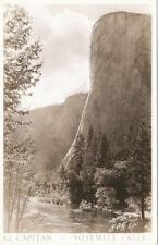 Ca * Yosemite Valley El Capitan Rppc ca. 1940
