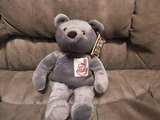 Cleveland Indians Manny Ramirez Salvino's Bammers Bear Plush 1999 Chief Wahoo