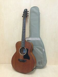 "P304 111EQ 37"" Caraya All Mahogany Electric-Acoustic Guitar w/EQ,Arched-Back+Bag"