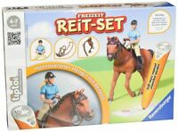 Ravensburger 00741 tiptoi Freizeit Reitset Hengst Reiten Lernspiel Pferd NEU