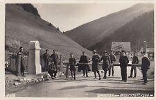 Brenner Grenze mit Zöllnern AK alt Brennerpass Brennero Tirol Österreich 1707252
